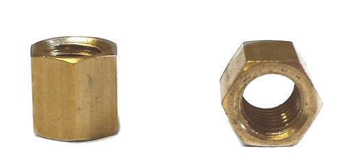 Taller  Brass Intake / Exhaust Nut M6  x 18mm  (SOLD EACH)