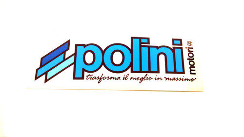 Polini Motori Logo Decal