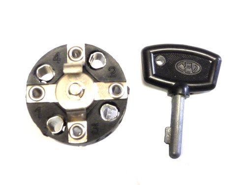 CEV Keyed Ignition Switch