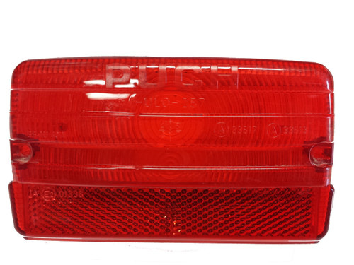NOS Puch European rectangle Taillight lens