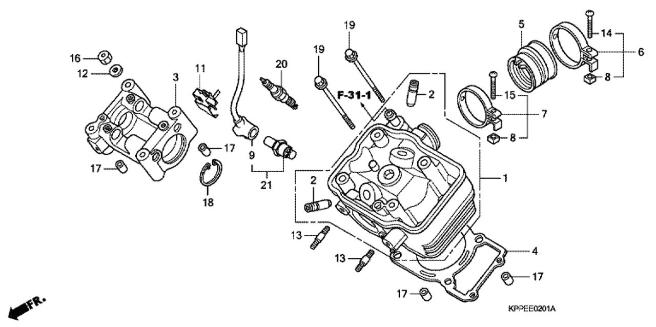 Honda Shadow Fuel Sensor