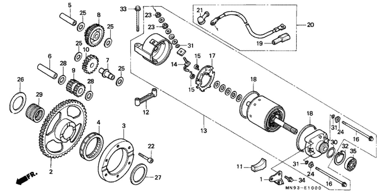 Wiring Diagram Honda Dominator