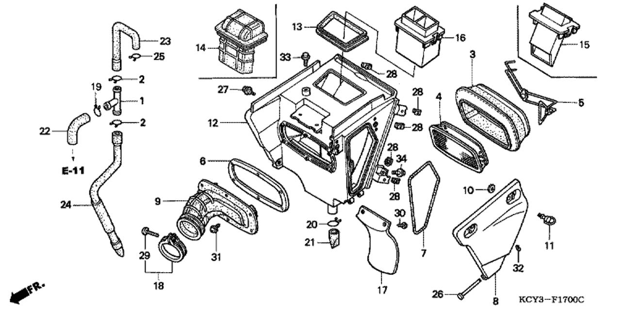 Honda Xr50 Wiring Diagram