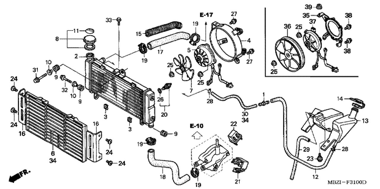 Honda Hornet Fuse Box - Wiring Diagrams Pagesystema-naturae.it