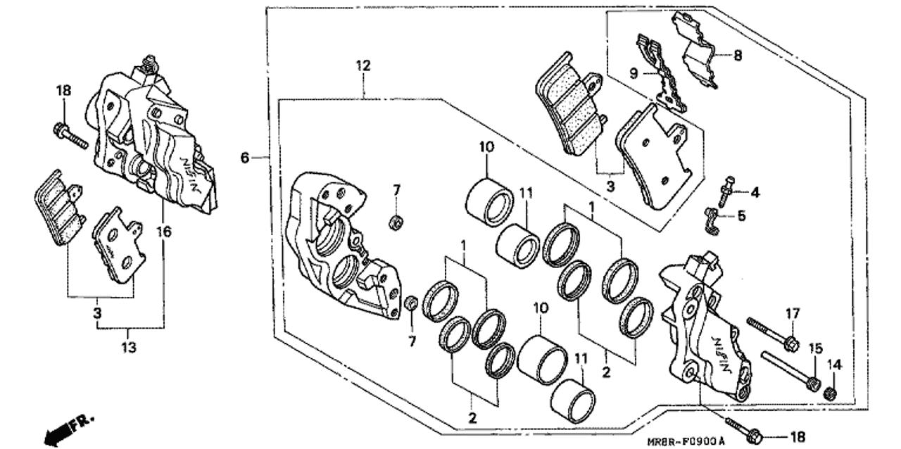 1986 Honda V65 Magna Specs