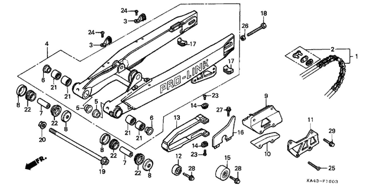 1984 Honda Goldwing Fuse Box Location