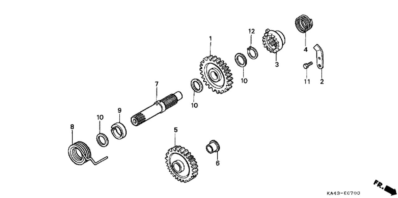 Air Filters Honda OEM Part 90554-728-940 Vehicle Parts & Accessories
