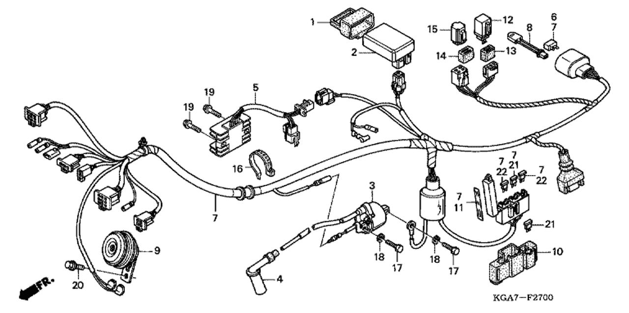 Honda Cd125 Electrical Wiring Diagram