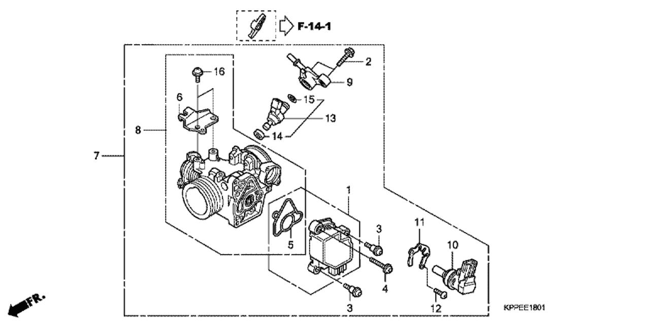 2003 Silverado Throttle Body Wiring Harness
