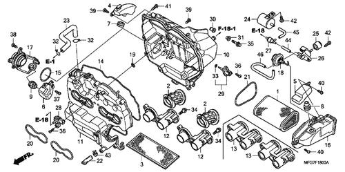 Genuine Honda CB600F Hornet ABS 2008 14Mm Washer Part 17