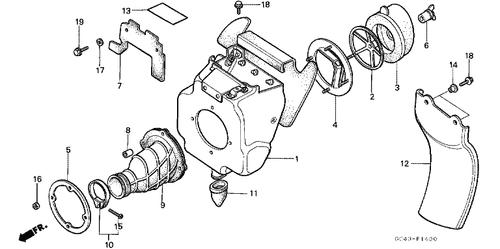 Genuine Honda Cr125r 1986 Kill Switch Assembly Part 5 35130gm7700