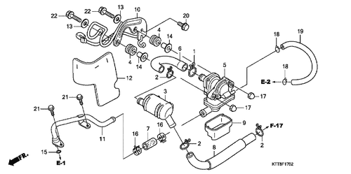 Genuine Honda Cg125 2001 Cushion Rubber Collar Part 13 90502kez900
