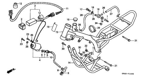 Remarkable Genuine Honda Qr50 1985 C D I Unit Cushion Part 2 30401Gb6000 Wiring Digital Resources Bocepslowmaporg