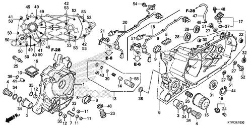 Genuine Honda SH300i 2013 33X64x7 Oil Seal Part 31