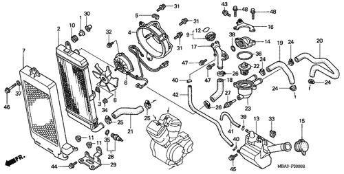 Genuine Honda Shadow Aero 2007 13.5X1.4 O-Ring Part 35