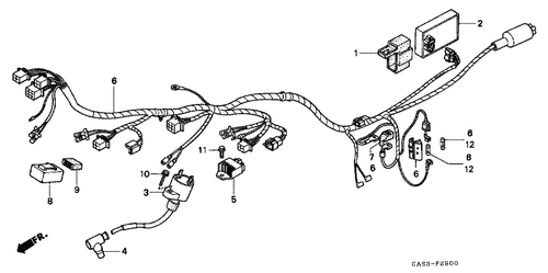 Engine Coolant Temperature Sender Stocklifts Brand TU63