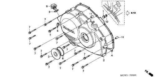 Genuine Honda VFR-ABS 2002 21.5Mm O-Ring Part 2