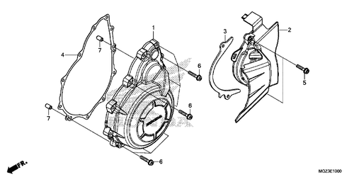 genuine honda cbr500r 2014 fuel filter assembly part 29 16730mgsd31 2014 Honda CBR 600 RR genuine honda cbr500r 2014 a c generator cover gasket part 4 11395mgzj00 1370538