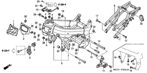 Genuine Honda Rc51 2002 Socket Bolt 12x259 5 Part 12 90101mcfd30 2033945 Nutjob