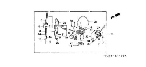 Amazing Honda X8R Wiring Diagram Wiring Diagram Wiring 101 Cominwise Assnl