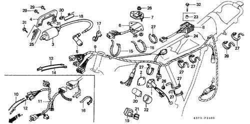 1990 Fuel Pump Wiring Harnes