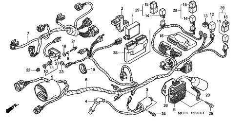 Genuine Honda RC51 2000 C.D.I. Converter Unit Part 1 ... on