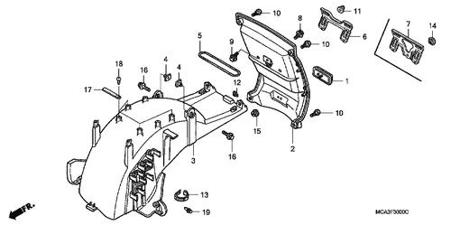 Genuine Honda Cr250r 1985 Chain Slider Part 14 52170ka3830 761391