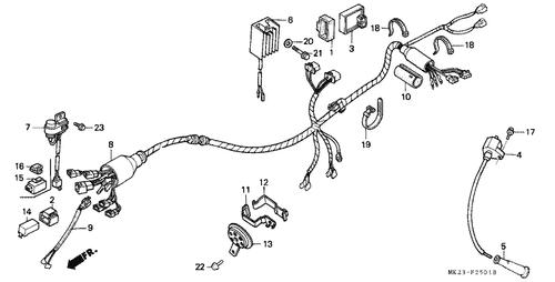 1990 Xr600r Wiring Diagram - Somurich.com on