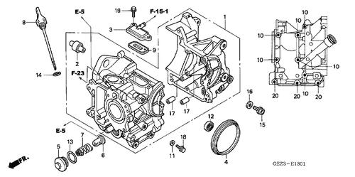 Honda OEM Part 15651-GET-010