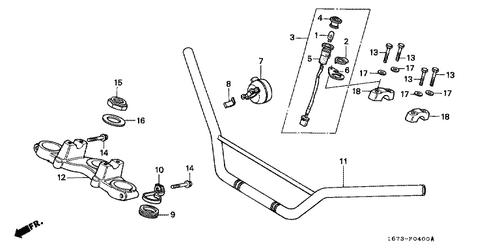 Superb Genuine Honda Mt 5 1990 Steering Stem Nut Part 15 90305Kf9900 Wiring Digital Resources Honesemecshebarightsorg