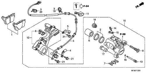 Honda Cbr 600 Speed Sensor