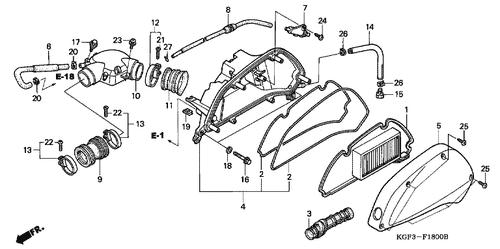 Genuine Honda Motorcycle Parts