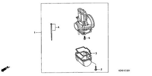 Genuine Honda Cr250r 1990 Swingarm Assembly Wl Part 4 52000kz3700