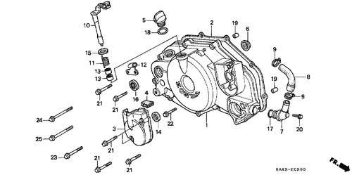 Genuine Honda CRM125R 1994 17X27x5 Oil Seal Part 16