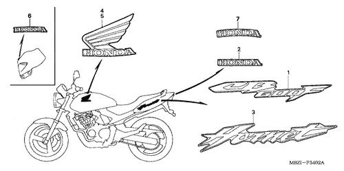 Genuine Honda CB600F Hornet 2006 Speed Sensor Assembly