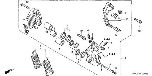Genuine Honda Deauville Nt650v3 Stopper Ring Part 8 45111majg41