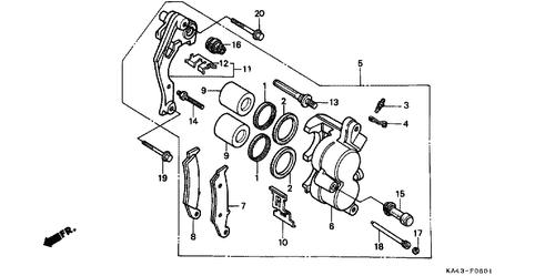 Genuine Honda Cr250r 1984 Ignition Coil Complete Part 1 30500ka3730