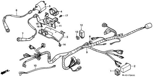 Genuine Honda CB350S 1986 Gasket Set Part 1: 16010ML4611