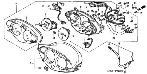Genuine Honda Deauville Nt650v3 Radiator Complete Part 1