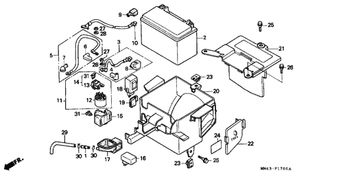 Genuine Honda CBR600F 1990 Air Valve Cap Part 29: 51457KM4003 ... on yamaha wiring diagram, honda cb 650 wiring diagram, honda cmx 250 wiring diagram, honda cb 750 wiring diagram, kawasaki wiring diagram, klr 650 wiring diagram, honda vt 1100 wiring diagram, triumph thruxton wiring diagram, honda cbr600rr wiring diagram, honda cb 350 wiring diagram, suzuki rm 250 wiring diagram, honda cb 900 wiring diagram, honda vtx 1800 wiring diagram, honda scooter wiring diagram, honda cbr600f wiring diagram, honda vtr 1000 wiring diagram, suzuki intruder 600 wiring diagram, triumph 600 wiring diagram, triumph bonneville wiring diagram, 2004 cbr 1000 wire diagram,