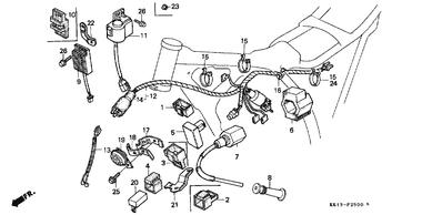 84 xr200r wiring diagram genuine honda xr250r 1984 c d i unit part 5 30410kk0003  1058488  genuine honda xr250r 1984 c d i unit