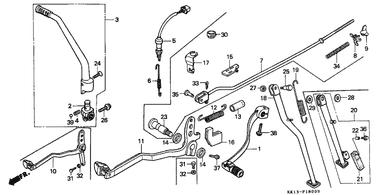 Honda OEM Part 28300-KT1-671