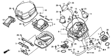 Honda 37880-P05-A00 Air Temperature Sensor Assembly