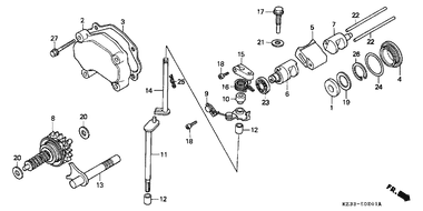 8MM 94251-08000 Qty 2 Honda OEM Lock Pin