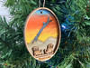 Brant Lake - Three Layer Ornament - Hand Painted