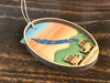 Otisco Lake - Finger Lakes - Three Layer Ornament - Hand Painted