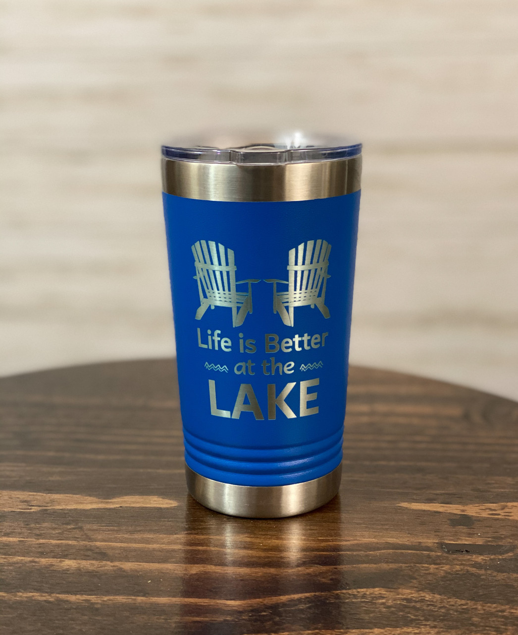 Life is Better at the Lake Pint Glass 16 oz.