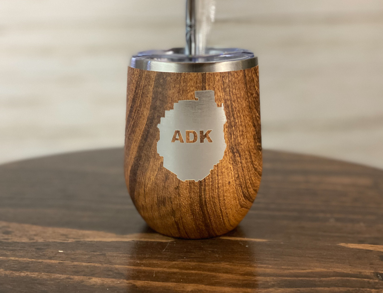 Limited Edition Woodgrain ADK Park 12 oz Thermal Drinkware