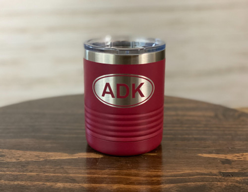 ADK Oval  10 oz  Insulated Tumbler