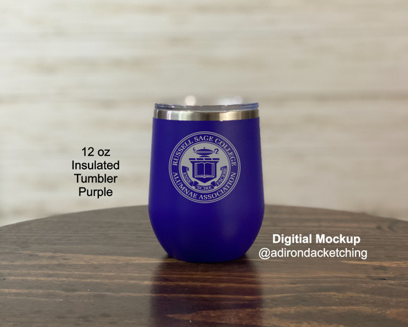 Russell Sage Alumnae -  12 oz  Insulated Tumbler